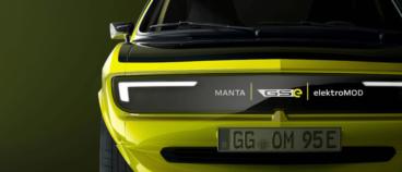 Opel atrāda Manta EV pārveidots retromodelis ar manuālo pārnesumkārbu 4