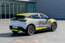 Atrāda Renault Mégane E-Tech Electric pirms ražošanas 2