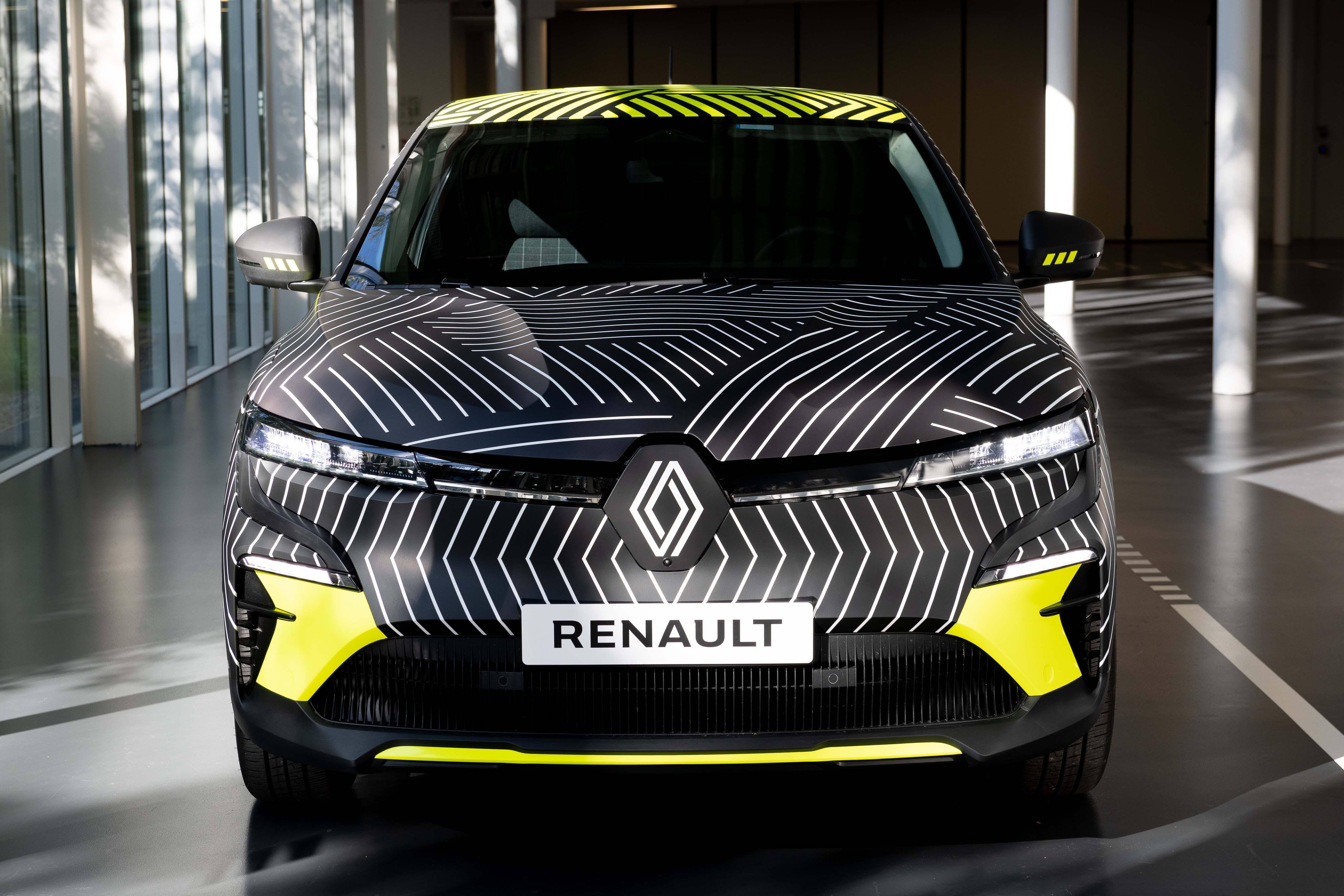 Atrāda Renault Mégane E-Tech Electric pirms ražošanas 3