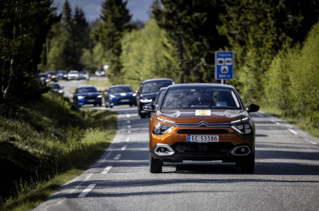 Norvēģijas Auto Federācijas vasaras EV tests