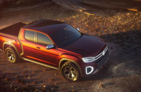 Volkswagen Atlas Tanoak koncepta pikaps