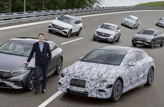 Mercedes-Benz būs elektriski no 2030.g.