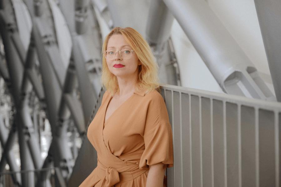 Nano Ray-T vadītāja Marija Korabovska