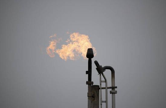 Gāzes ieguves vietas deglis